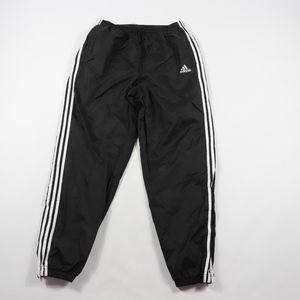 90s Adidas Mens Large Spell Out Jogger Pants Black